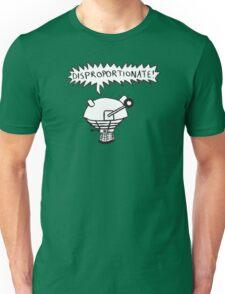 dalek -disproportionate! 2 Unisex T-Shirt