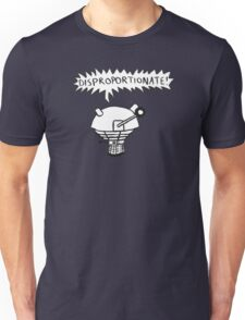 dalek -disproportionate! 2 Unisex T-Shirt
