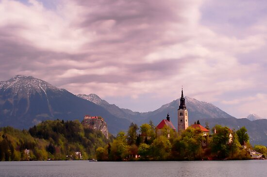 Portrait of Bled by pixsellpix