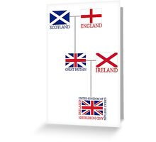 The Union Jack Greeting Card
