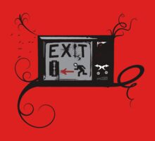 Exist - Vintage TV - Exit - RUN AWAY FROM IT! by Denis Marsili - DDTK