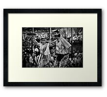 Joged Bumbung Framed Print