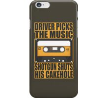 SUPERNATURAL - Driver Picks the Music.. iPhone Case/Skin