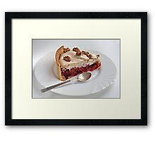 Piece of cake Framed Print