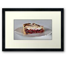 dessert Framed Print
