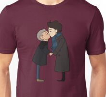 Under the mistletoe Unisex T-Shirt