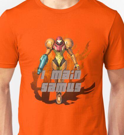 I MAIN SAMUS Unisex T-Shirt