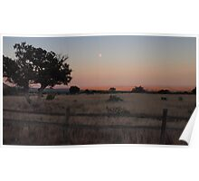 Sundown over New Mexico Poster