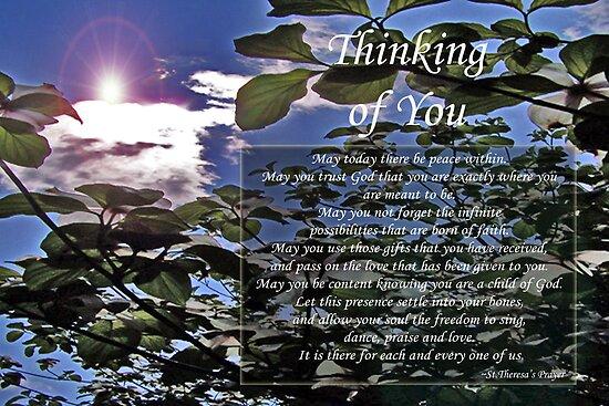 St. Theresa's Prayer (Dogwoods) by Terri Chandler