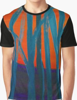 Abstract Tree Landscape 2 Graphic T-Shirt