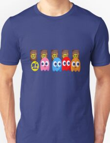 PACMAN FUNNY RETRO VIDEO GAME PIXEL ART T-Shirt