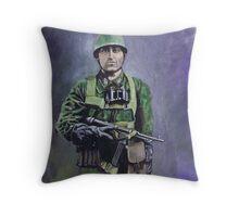 Fallschirmjäger (green devils) Throw Pillow