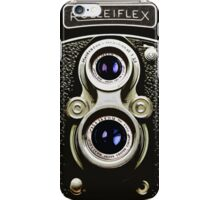 Vintage Camera Rolleiflex Watercolor iPhone Case/Skin