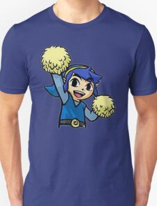 Legend of Zelda - Pom pom Link (Blue) T-Shirt
