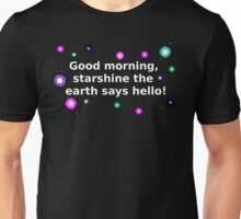 White Starshine Unisex T-Shirt