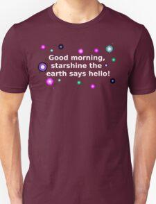 White Starshine Unisex T-Shirt