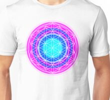 Flower of Life Sacred Geometry 2 Unisex T-Shirt