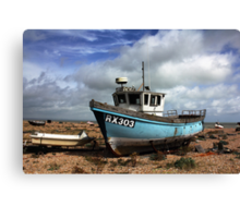 Washed Up & Weathered  Canvas Print