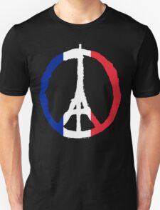 Peace for Paris flag edition T-Shirt