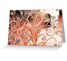Winslow Arizona Gate Greeting Card
