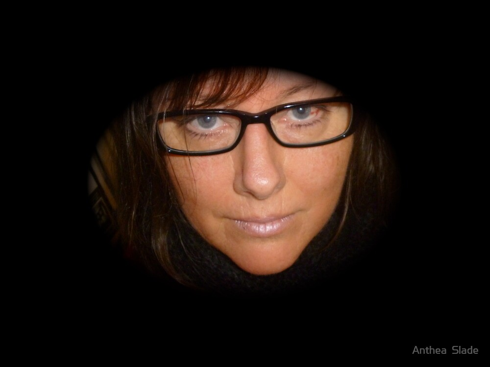 Black Reading Glasses by Anthea  Slade