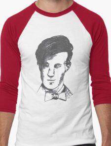 The 11th Doctor - Drawing  Men's Baseball ¾ T-Shirt