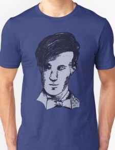 The 11th Doctor - Drawing  T-Shirt