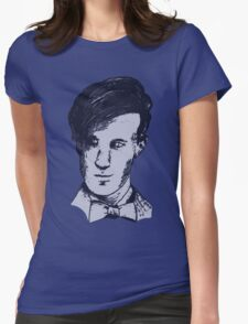 The 11th Doctor - Drawing  Womens Fitted T-Shirt
