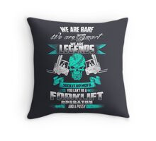 FORKLIFT DRIVER Throw Pillow