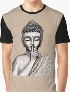 Shh ... do not disturb - Buddha - New Graphic T-Shirt