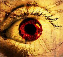 Eye Vitruvius by Kim Slater