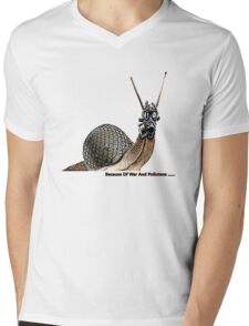War & pollutants Mens V-Neck T-Shirt