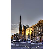 The East End of George Street Photographic Print