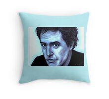 Hugh Grant celebrity portrait Throw Pillow