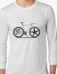 Fixie Bike Long Sleeve T-Shirt