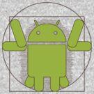 Vitruvian Android by Anastasiia Kucherenko