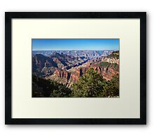 North Rim View Framed Print