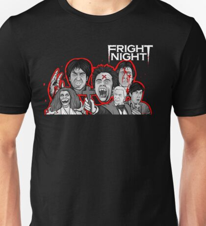 fright night character collage Unisex T-Shirt