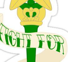 Fight for STRENGTH! Sticker