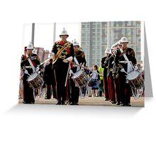 The Royal Marines at the London Olympics 2012 Greeting Card