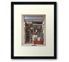 Verona - Deli Framed Print