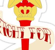 Fight for PASSION! Sticker