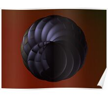 Double Spiral Lens' I Poster