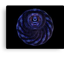 Double Spiral Lens' II Canvas Print