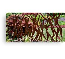 Dancing Sculpture Canvas Print