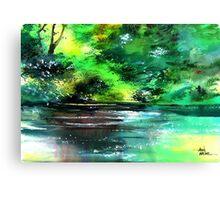 Deep 2 Canvas Print