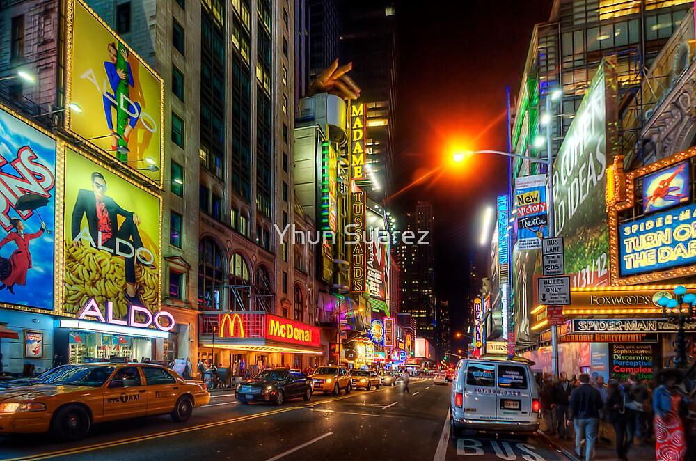 42nd Street NYC 3.0 by Yhun Suarez