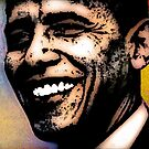 PRES. BARACK OBAMA by OTIS PORRITT