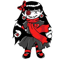 Rag Doll Red Photographic Print