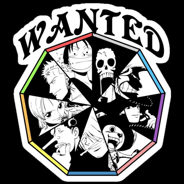 One Piece - Straw Hat Pirates Crew by Tarobeast